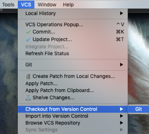 Checkout from Version Control